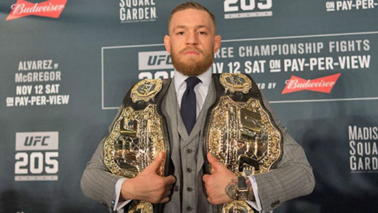 Conor McGregor, petarung UFC. Copyright: © INTERNET