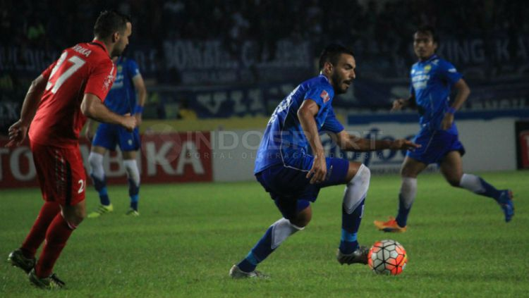 Marcos Flores, mantan pemain Persib Bandung. Copyright: © Ginanjar/INDOSPORT