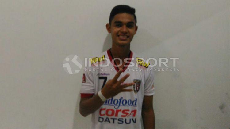 Persiraja Banda Aceh resmi mendapatkan Miftahul Hamdi untuk kompetisi Liga 1 2020. Winger muda Bali United itu didatangkan dengan tebusan. Copyright: © Zainal Hasan/INDOSPORT
