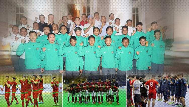 Timnas Futsal Indonesia. Copyright: © Indosport/Herry Ibrahim