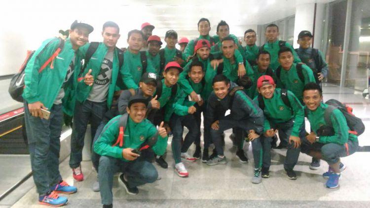 Timnas Indonesia mendapat jatah libur pada hari ini, dan akan kembali latihan pada esok hari. Copyright: © @pssi__fai