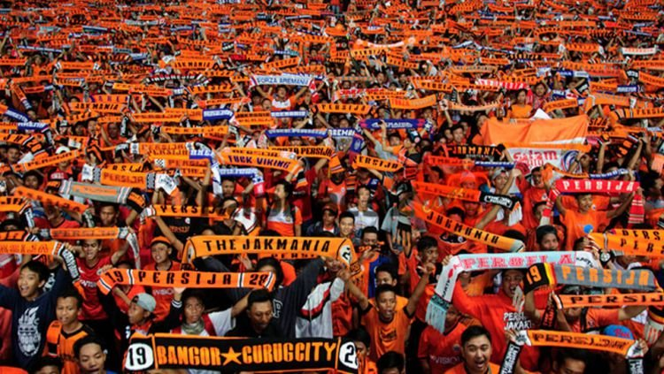 The Jakmania. Copyright: © Istimewa