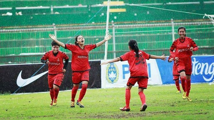 Geliat sepakbola wanita mulai ramai di tahun 2017. Copyright: © Istimewa