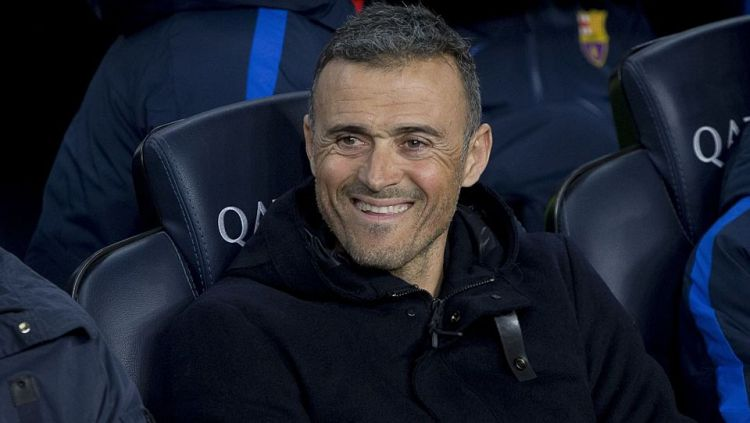 Luis Enrique (pelatih Barcelona) Copyright: David Ramos/Getty Images