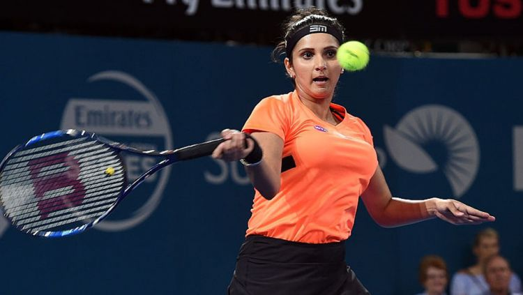Petenis asal India, Sania Mirza. Copyright: © SAEED KHAN/AFP/Getty Images