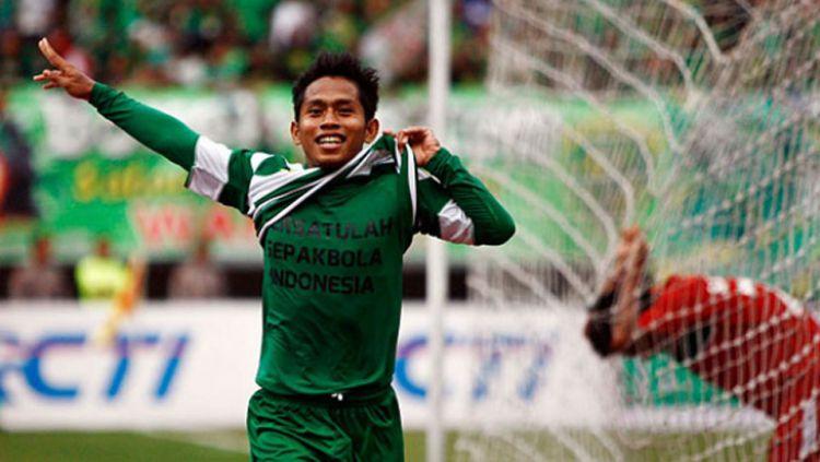 Selebrasi Andik Vermansah Bersama Persebaya Surabaya Copyright: © tempo