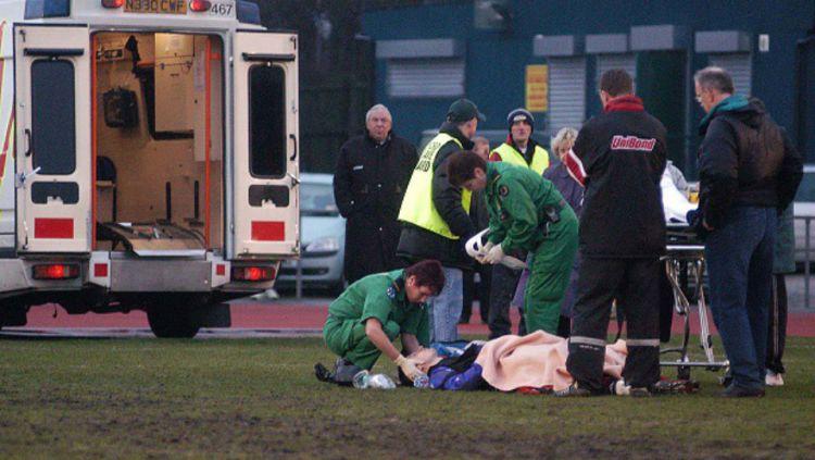 Lutz Pfannenstiel pernah sakaratul maut sebanyak tiga kali. Copyright: © sportskeeda.com