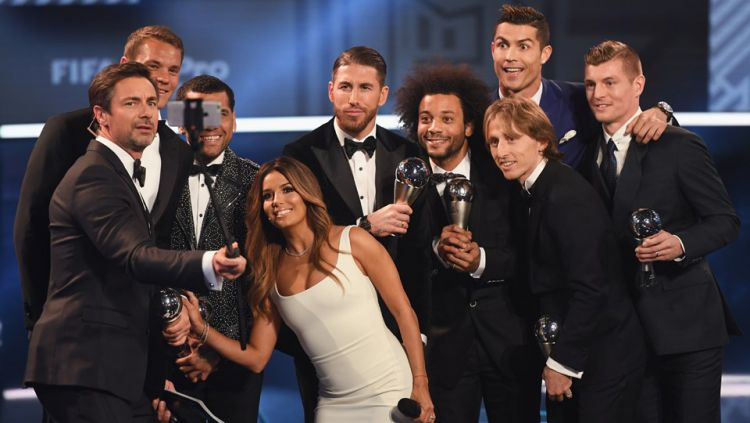 Para pemain FIFA FIFPro World 11. Copyright: © Fabrice Coffrini/AFP