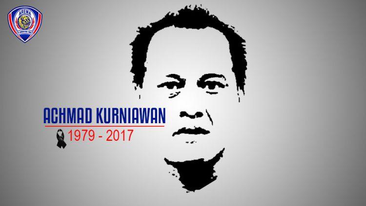 Mendiang kiper Arema, Achmad Kurniawan. Copyright: INDOSPORT