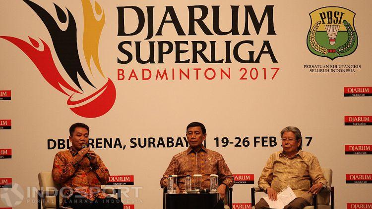 Suasana Prescon Djarum Super Liga 2017 Copyright: Herry Ibrahim/INDOSPORT
