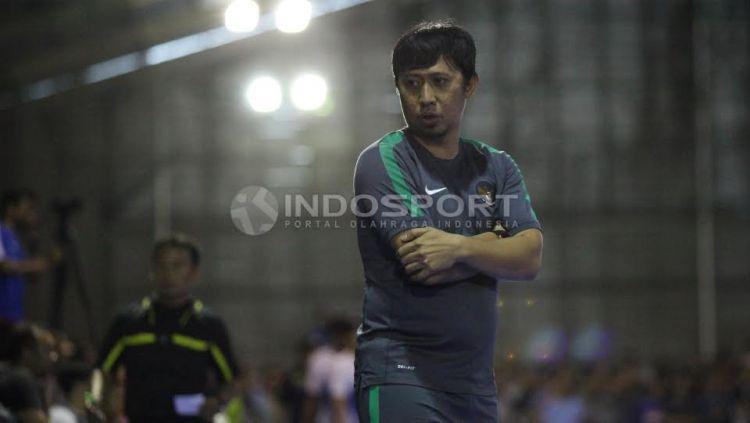 Pelatih Timnas Futsal Indonesia, Andri Irawan. Copyright: © Herry Ibahim/INDOSPORT