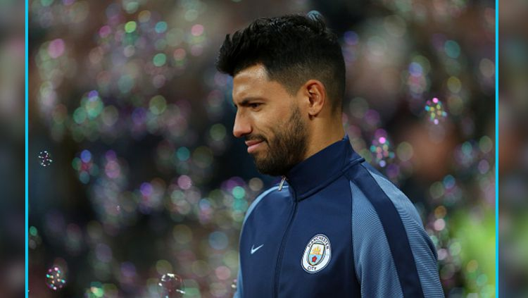 Striker Man City, Sergio Aguero. Copyright: Catherine Ivill/GettyImages