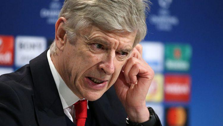 Pelatih Arsenal asal Prancis, Arsene Wenger. Copyright: © Jean Catuffe/Getty Images