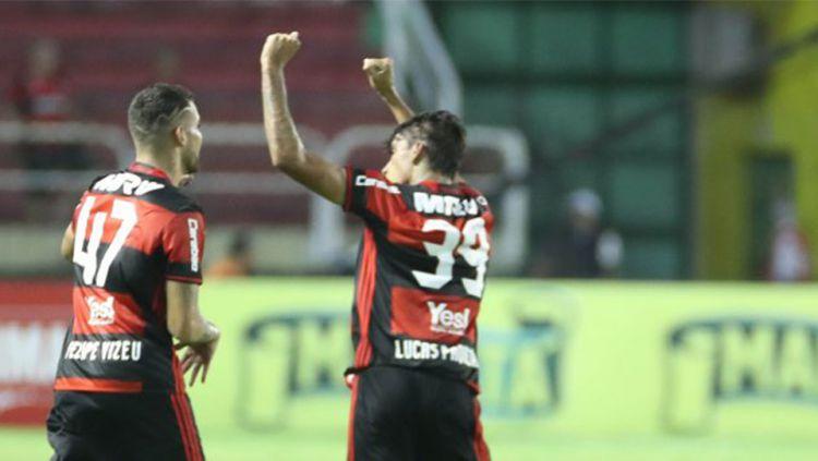 Lucas Paqueta, pemain muda yang bakal didatangkan AC Milan. Copyright: © Globo