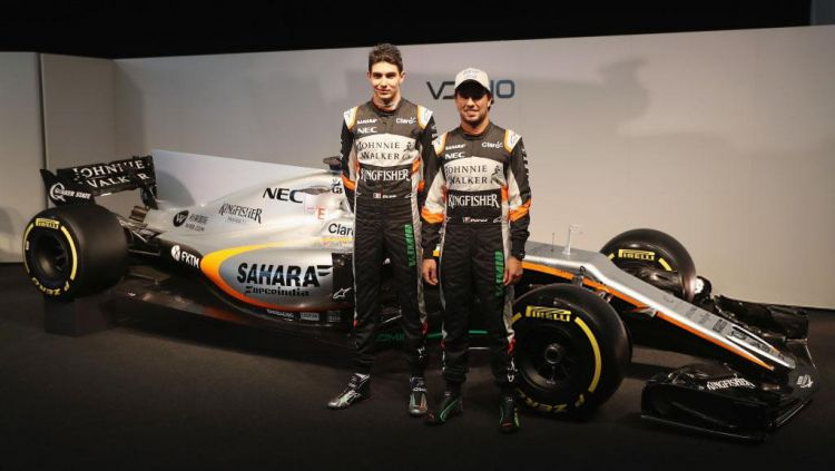 Force India kembali tampil di kancah Formula 1 musim 2017. Copyright: © Getty Images