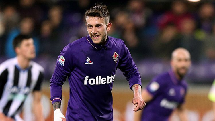 Penyerang Fiorentina, Federico Bernardeschi. Copyright: Gabriele Maltinti/Getty Images