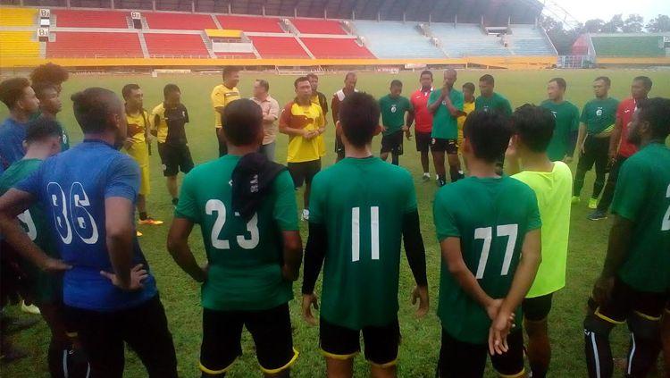 Skuat Sriwijaya FC kembali mendatangkan seorang pemain baru jelang Liga 1 dimulai. Copyright: © MUHAMMAD EFFENDI/INDOSPORT