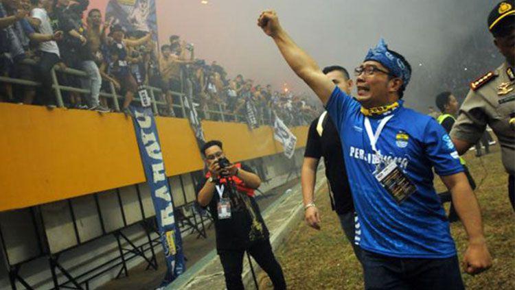 Gubernur Bandung, Ridwan Kamil Copyright: © vikingpersib.co.id