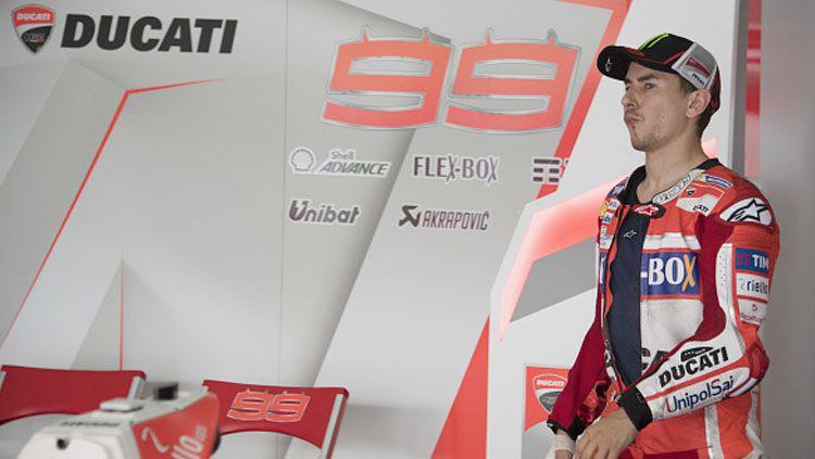 Jorge Lorenzo saat akan uji coba Sirkuit Sepang. Copyright: Mirco Lazzari gp/Getty Images