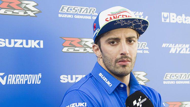 Pembalap Suzuki, Andrea Iannone. Copyright: © Mirco Lazzari gp/Getty Images
