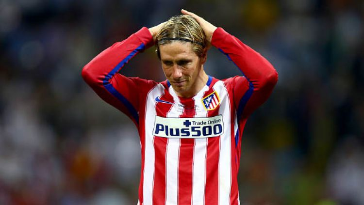 Fernando Torres (Atletico Madrid). Copyright: © Clive Rose/Getty Images
