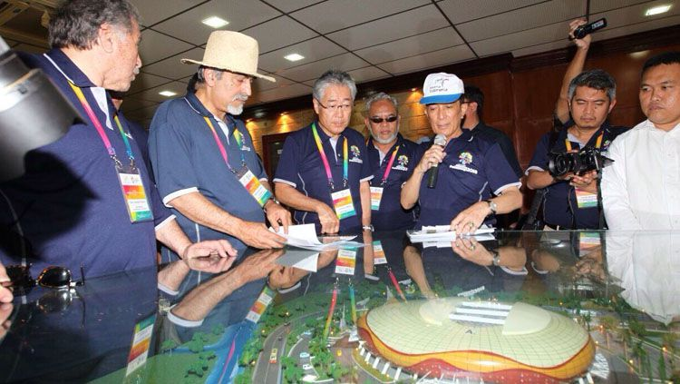 Koordinasi Rapat Komite VI Asian Games 2018. Copyright: Humas INASGOC