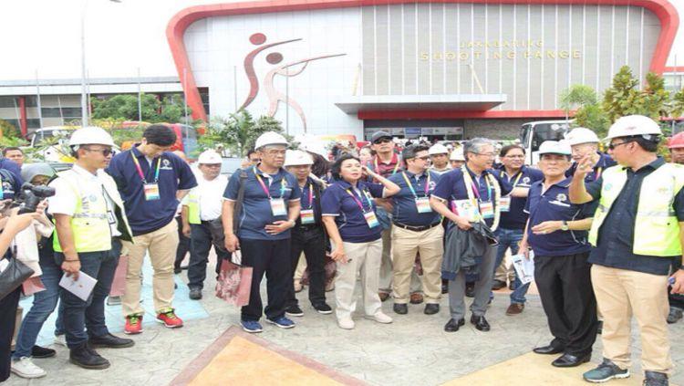 OCA dan INASGOC memantau persiapan Asian Games 2018 Copyright: © Humas INASGOC