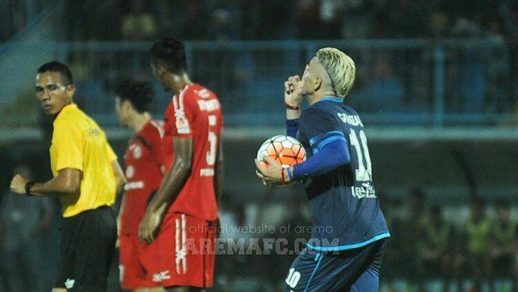 Cristian Gonzales. Copyright: Arema FC