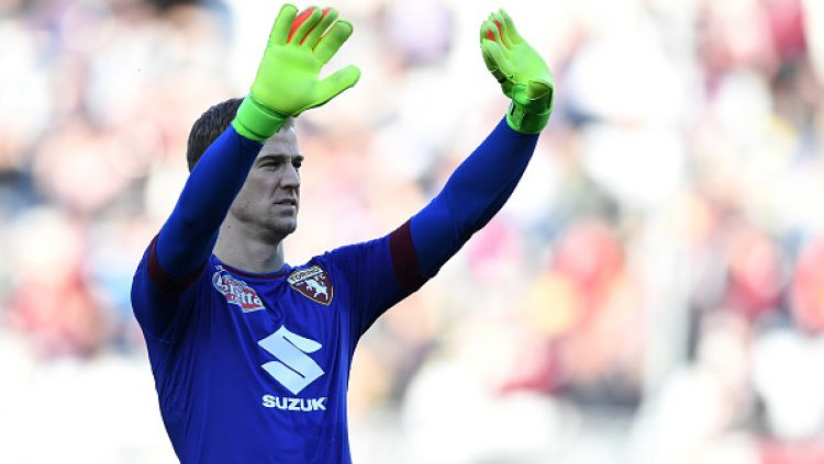 Joe Hart saat membela Torino kontra Palermo. Copyright: Valerio Pennicino via Getty Images