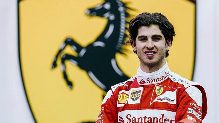 Antonio Giovinazzi. Copyright: Ferrari