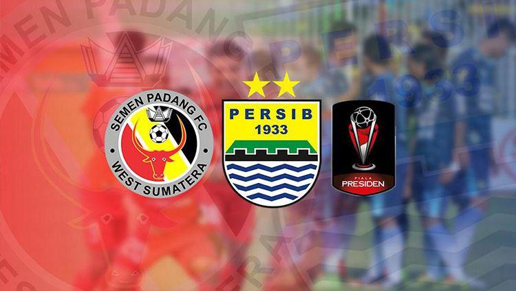 Persib Bandung akan bertemu Semen Padang untuk memperebutkan tempat ke-3 Piala Presiden 2017. Copyright: © ELI SUHAELI/INDOSPORT/Istimewa