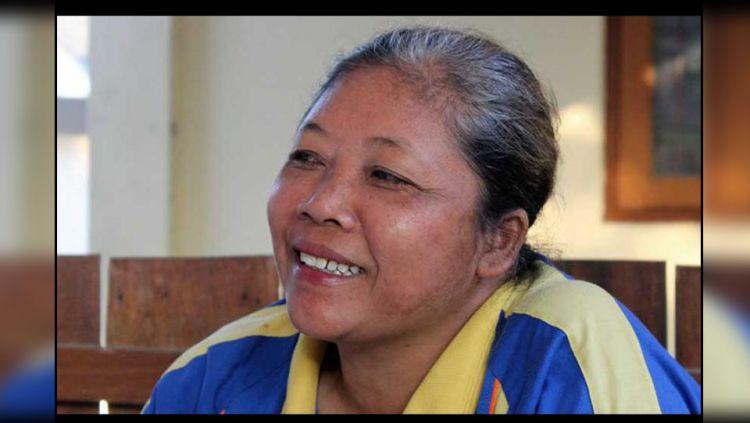 Dyah Renatih, mantan atlet lempar lembing. Copyright: © fajar.co.id