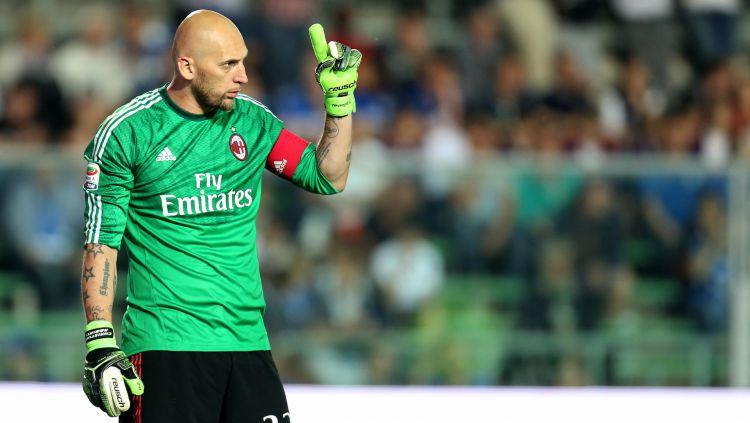 Christian Abbiati kala masih memperkuat AC Milan Copyright: © gazzettaworld