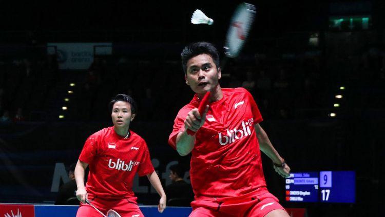 Tontowi Ahmad/Liliyana Natsir salah satu wakil Indonesia yang berjuang di babak kedua All England 2017. Copyright: © Humas PBSI