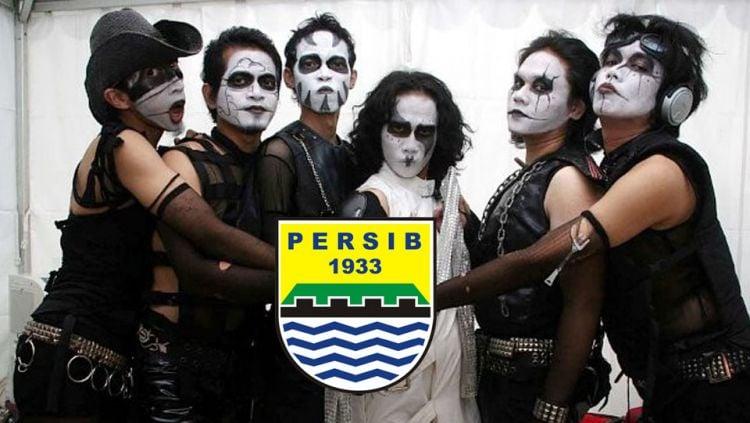 The Kubs, band asal Indonesia yang menciptakan lagu dukungan untuk Persib Bandung. Copyright: wowkeren.com