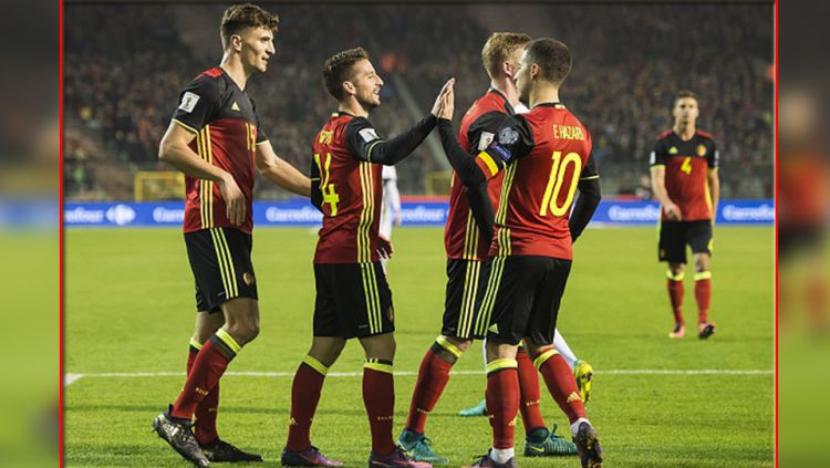 Timnas Belgia. Copyright: © VI Images/GettyImages