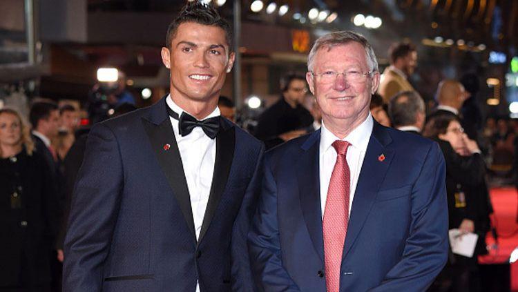 Cerita di balik perekrutan Cristiano Ronaldo oleh Sir Alex ke Manchester United. Copyright: © Karwai Tang/WireImage/Getty Images