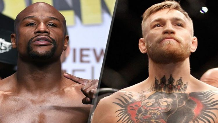 Floyd Mayweather Jr vs Conor McGregor. Copyright: © Eurosport
