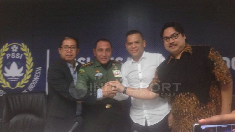 Manager Meeting dan Preskon Liga 1 Indonesia. Copyright: © Muhammad Adiyaksa/INDOSPORT