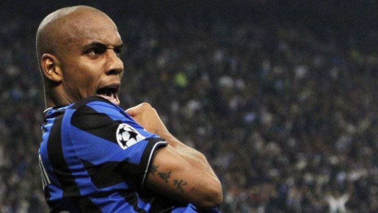 Douglas Maicon berhasil mencetak gol cantik 10 tahun yang lalu. Copyright: © Sempreinter.com