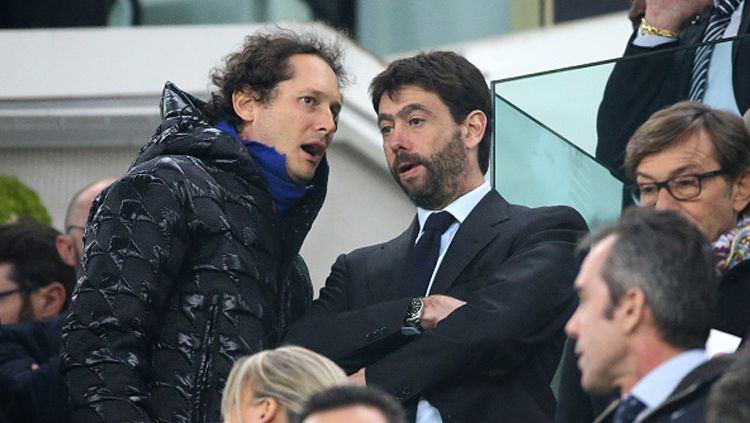 Presiden Juventus, Andrea Agnelli. Copyright: © Jean Catuffe/Getty Images
