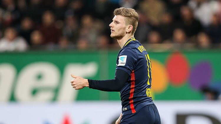 Timo Werner, bintang RB Leipzig. Copyright: © TF-Images/Getty Images