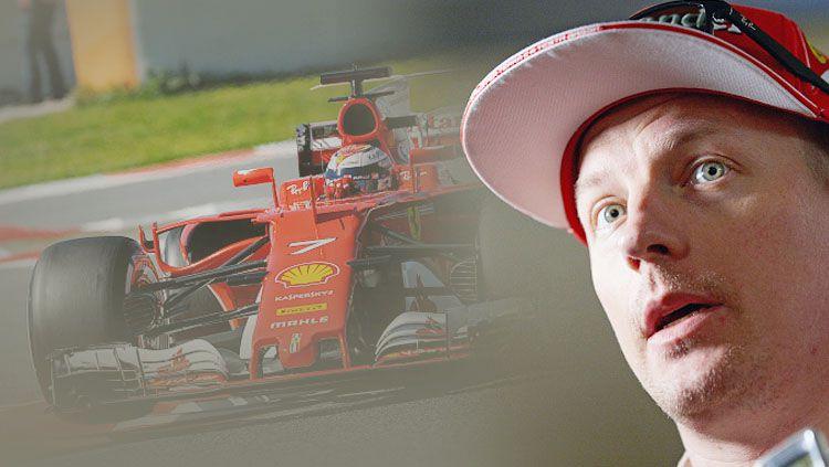 Kimi Raikkonen pembalap Ferrari Formula 1. Copyright: © Rainer W. Schlegelmilch/Getty Images