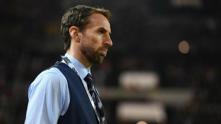 Pelatih Timnas Inggris, Gareth Southgate. Copyright: © Michael Regan - The FA/The FA via Getty Images