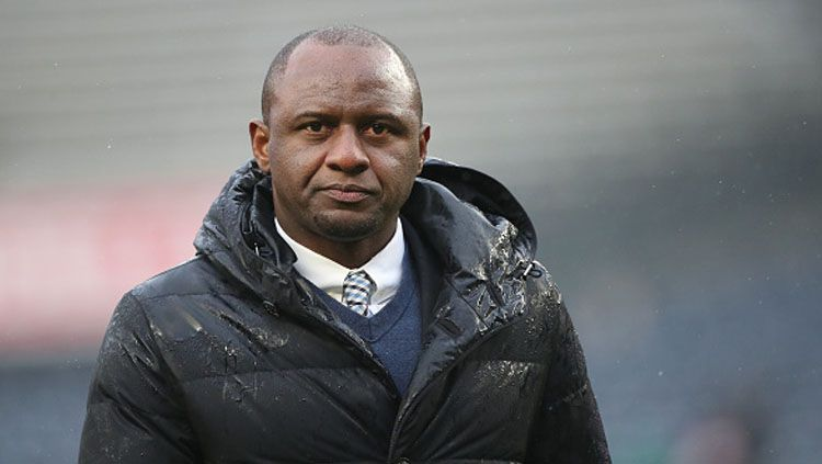 Pelatih New York City FC, Patrick Vieira. Copyright: © Tim Clayton/Corbis via Getty Images