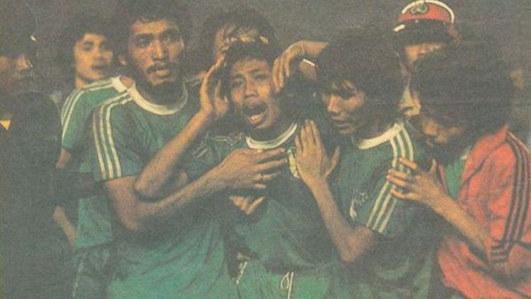 Mengenang kejayaan PSMS Medan. Copyright: © Kesemu Ramadhan/INDOSPORT