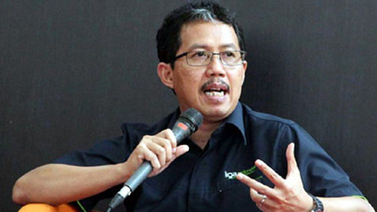 Wakil Ketua Umum PSSI, Joko Driyono. Copyright: © bolanasional.com