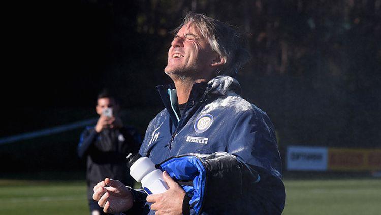 Roberto Mancini. Copyright: © Claudio Villa - Inter/Inter via Getty Images