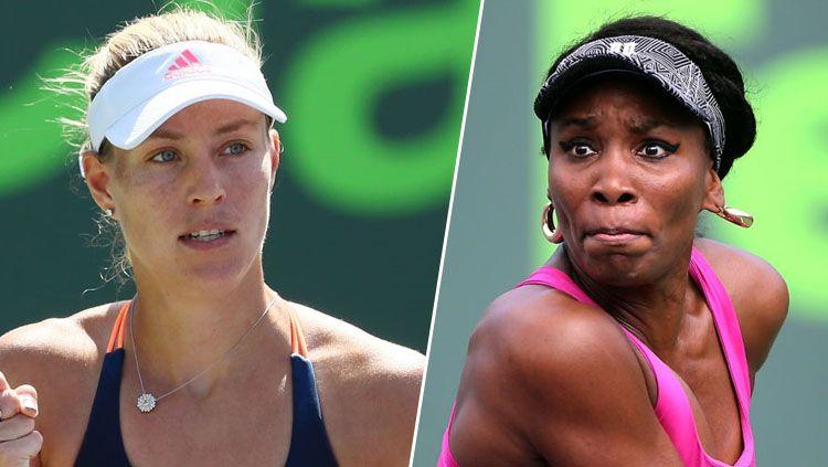 Angelique Kerber vs Venus Williams. Copyright: © Getty Images