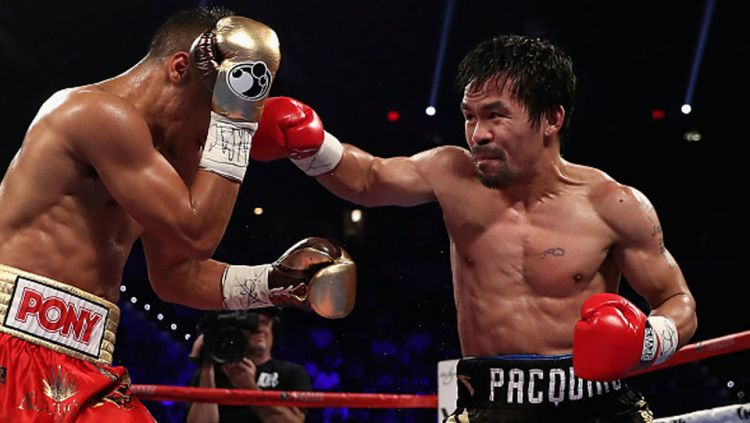 Jessie Vargas vs Manny Pacquiao Copyright: © Christian Petersen/Getty Images